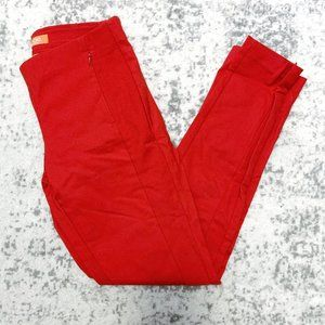 Joe Fresh Red Slim Leg Work Trouser